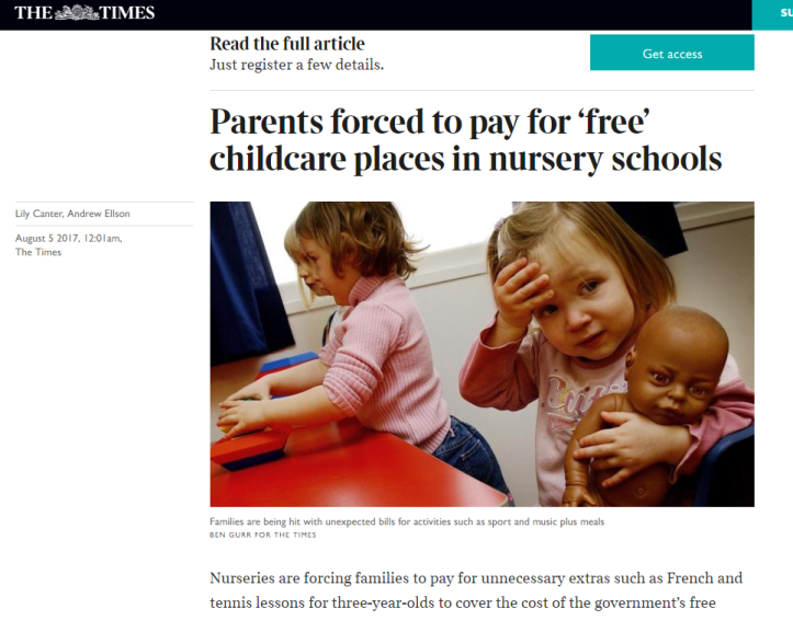 Free childcare pic